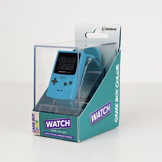 任天堂推出新周边商品 以GBC为灵感的腕表发售