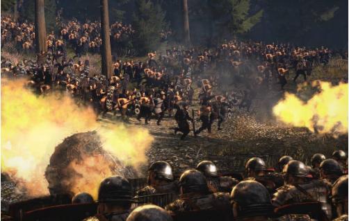 罗马2片面战斗绿色汉募化版