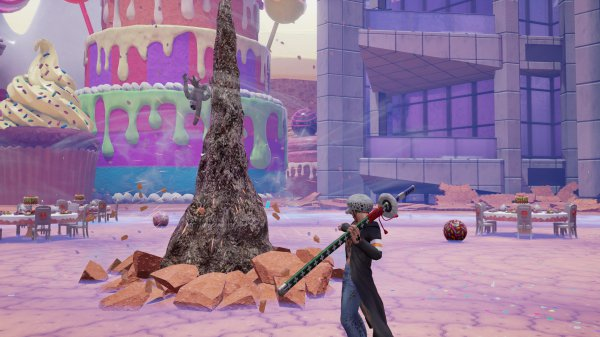 《Jump大乱斗》新DLC角色截图 特拉法尔加·罗参战