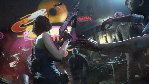 《生化3:重制》首批游戏截图 展示各种角色与场景