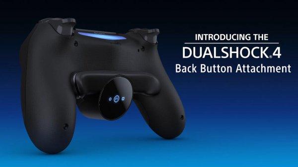 PS4官方手柄背部按键外设公布 明年年初正式发售