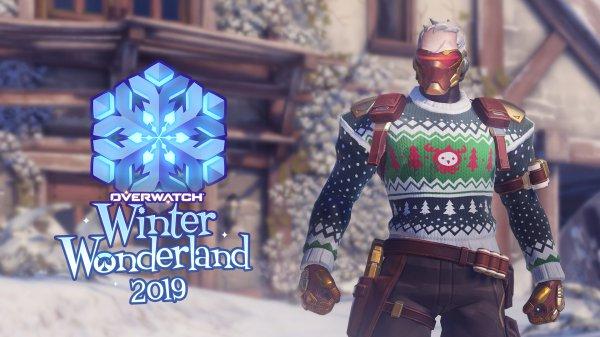 《守望先锋》冬幕节献礼 登陆即送5份圣诞补给