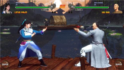 格斗游戏《少林vs武当2》上架Steam平台 自带简体中文
