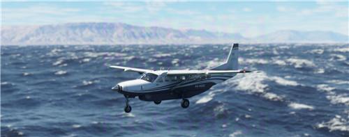 《微软飞行模拟》全新截图公布 自然美景让人震撼