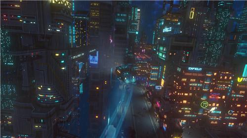 《云端朋克》4月24日登陆Steam 化身赛博朋克快递哥