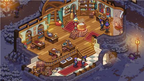 《星露谷物语》发行商新作《巫师布鲁克》新截图