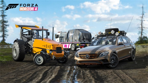 《极限竞速:地平线4》新版本秋季赛开赛