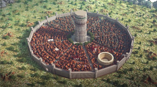 《我的世界》建筑团队打造巨大迷宫都市 远景宏伟壮丽