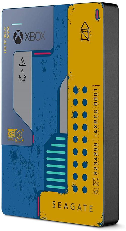 《赛博朋克2077》主题2TB便携硬盘上架亚马逊商城 会员到手价约75