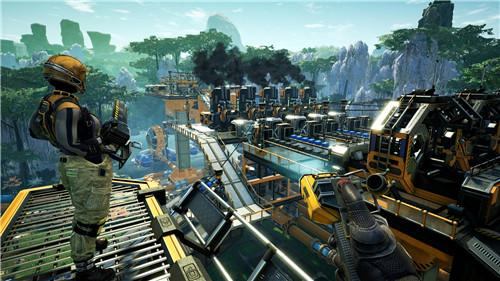 《幸福工厂》现已登陆Steam抢先体验 获得特别好评