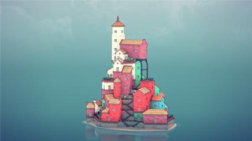 《绝境北方》开发者新作《Townscaper》登陆Steam:自由建造城镇