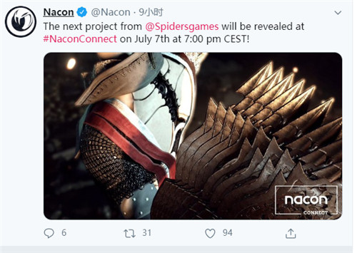 《贪婪之秋》开发商新作将于7月8日正式公布