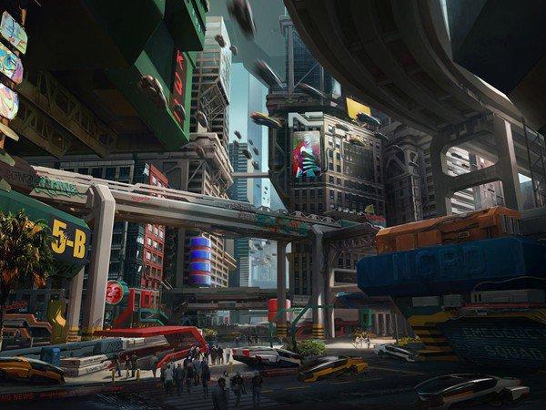赛博朋克2077游戏地点人物设定汇总