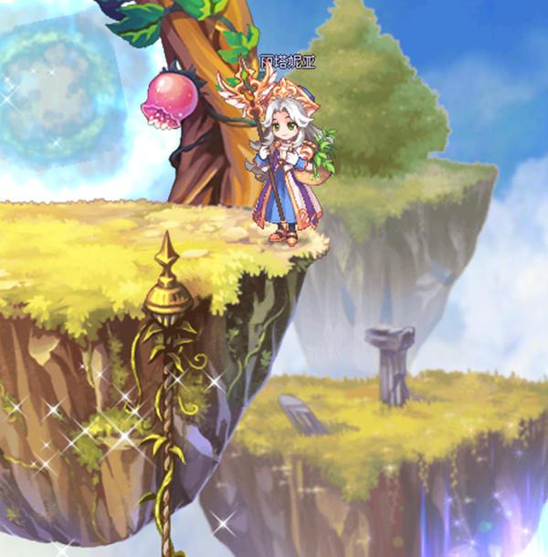 偶像宝石星心动降临《彩虹岛》副职业系统全新改版