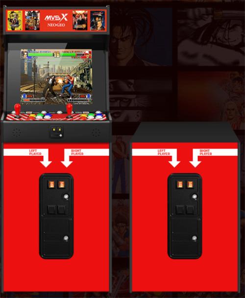全新SNK授权复古街机框体推出 亦家亦商11月发售