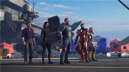 《漫威复仇者联盟》19分钟开场演示 超级英雄爽快体验