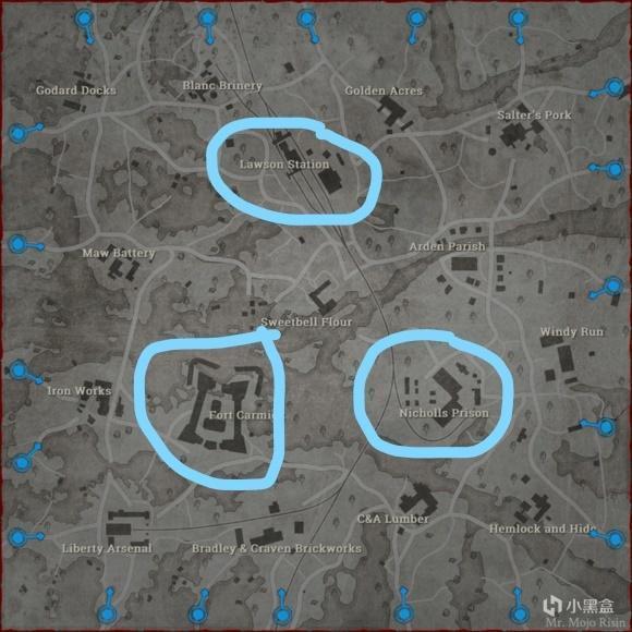 猎杀对决劳森三角洲地图攻略 地图特点及地点攻防战