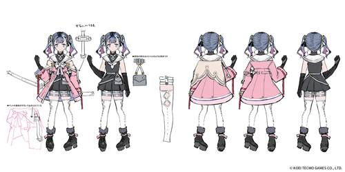 《莱莎2》众角色的人物3D图与设定图发布 画房活动公布