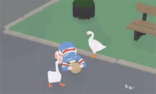搞怪独立游戏《捣蛋鹅》迎来双人模式更新