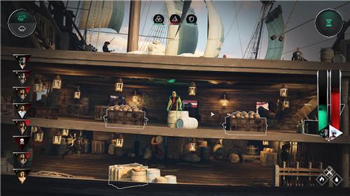 海盗冒险游戏《海盗指挥官》现已上架Steam平台