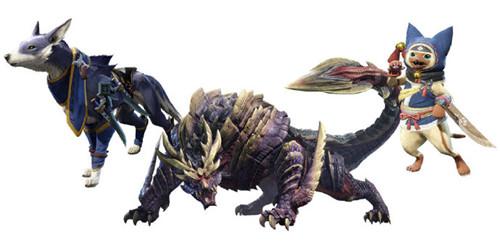《怪物猎人:崛起》对应三款Amiibo产品价格公布