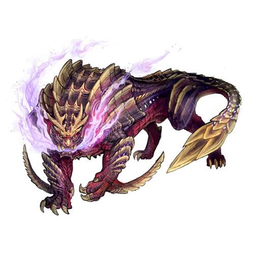 《怪物猎人:崛起》象征怪物怨虎龙概念图放出