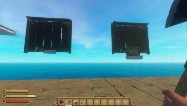 木筏求生怎么制作浮空建筑