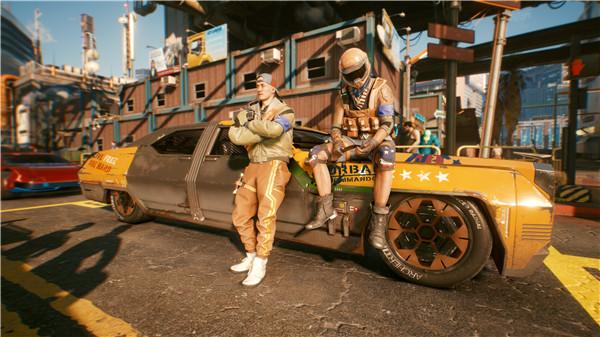 《赛博朋克2077》海量载具截图 超酷汽车和摩托座驾