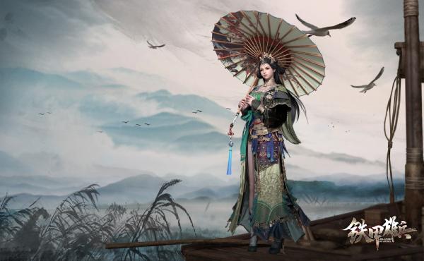 江东才女《铁甲雄兵》新武将大乔明日上线