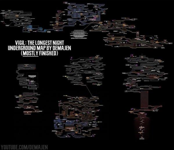 守夜人长夜全地图分享