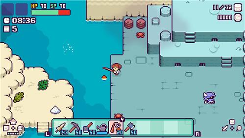 像素风2D新游《哔啵岛物语》上架Steam平台