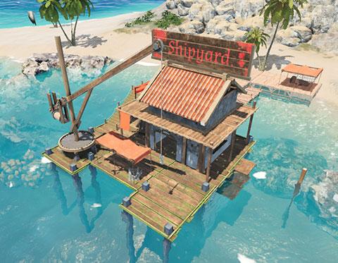 沉风破浪浮摇直上造船模拟游戏《沉浮》开拓新航线