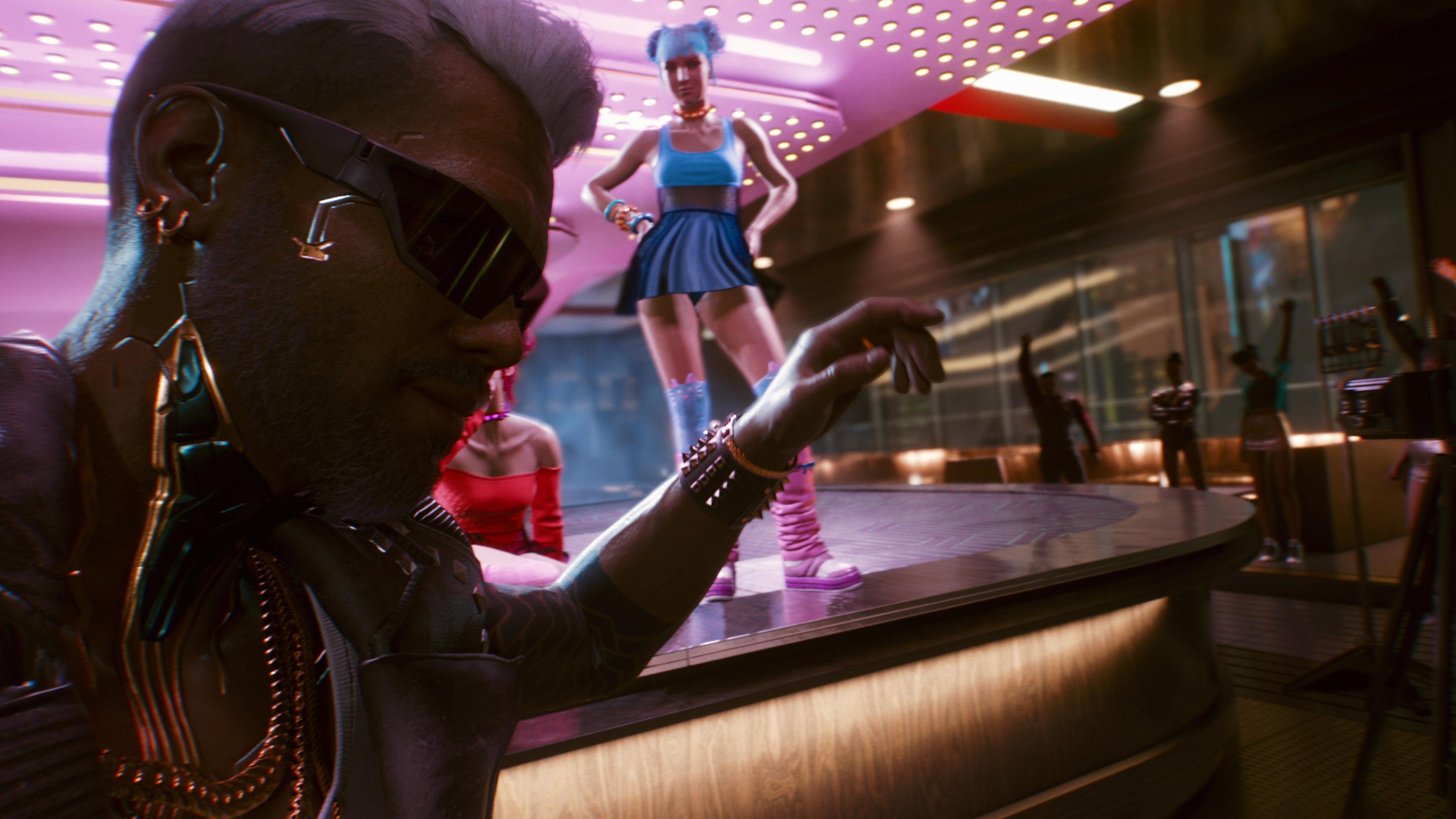 《赛博朋克2077》大量新截图 让人向往的未来都市