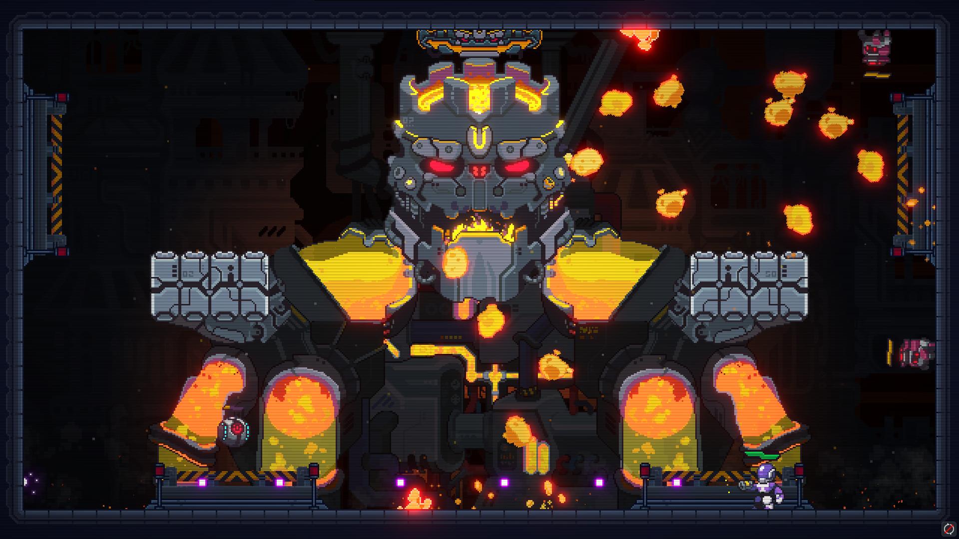 2D像素射击游戏重力英雄发售时间公布 可以操纵重力来进行游戏