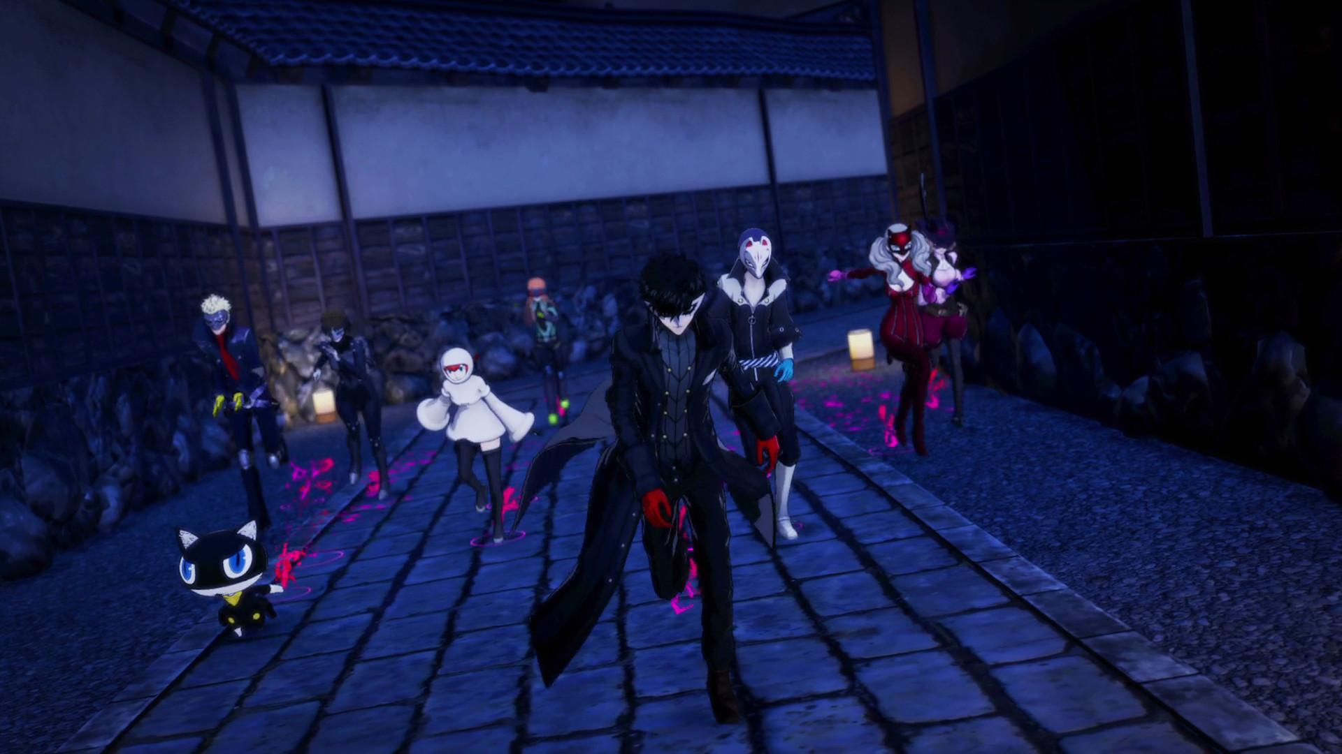《女神异闻录5S》激燃战斗预告片 PC版即将发售