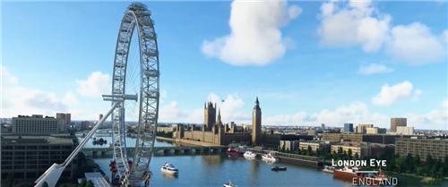 《微软飞行模拟》英国爱尔兰预告 3月底更新法国等地