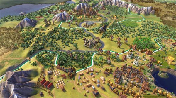 文明6越南+忽必烈DLC已正式发售 垄断公司模式更新加入游戏
