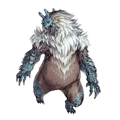 怪物猎人:崛起雪鬼兽设计公布 会变色的牙兽种