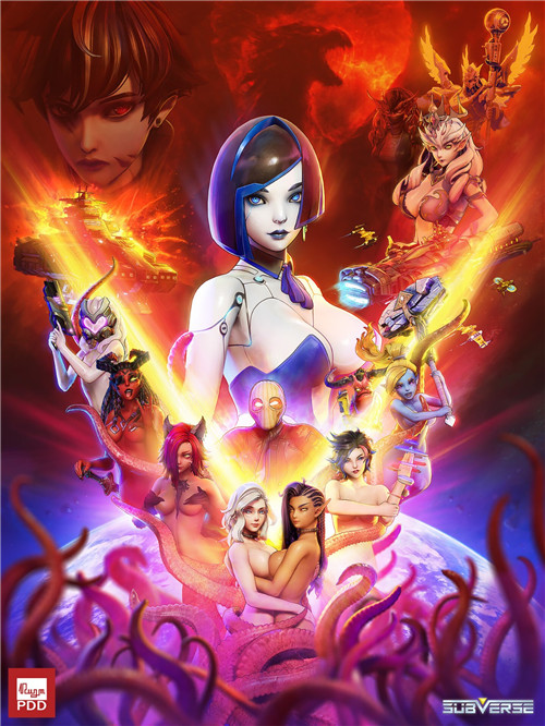 马头社新作《Subverse》将在今年3月26日推出