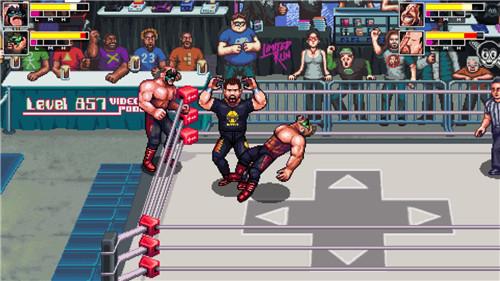 《复古疯狂摔跤》现已登陆Steam平台 重现街机游戏热血感觉