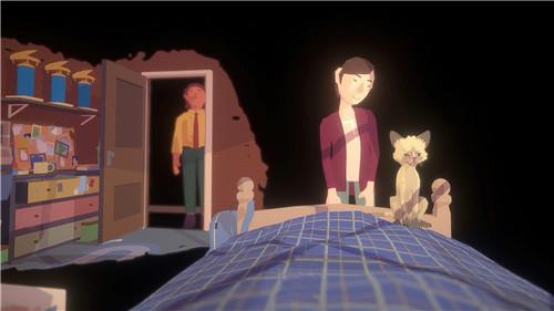 第一人称视角叙事向游戏《双眼之前》用眨眼来推动剧情进展