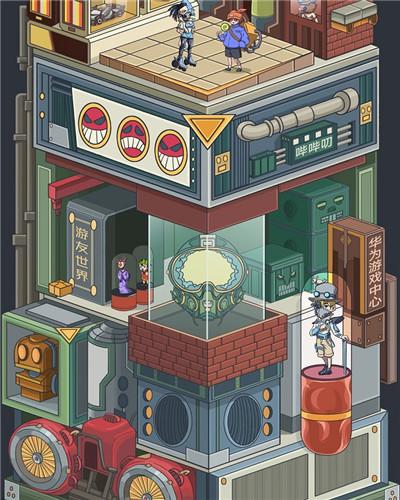 """打造""""游友世界"""",华为游戏中心转型再创新"""