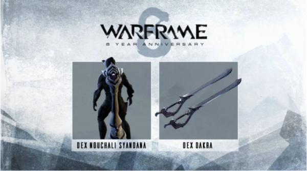 Warframe8周年活动开启