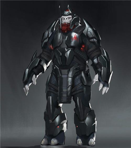 《光环 无限》新概念图公开 包含Boss、武器和载具