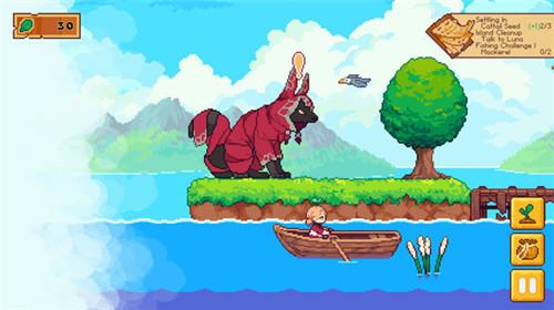 休闲建造游戏《路纳的钓鱼花园》6月16日上市