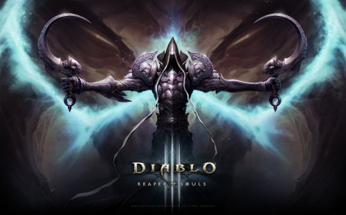 暗黑3最新官方壁纸:死神武装