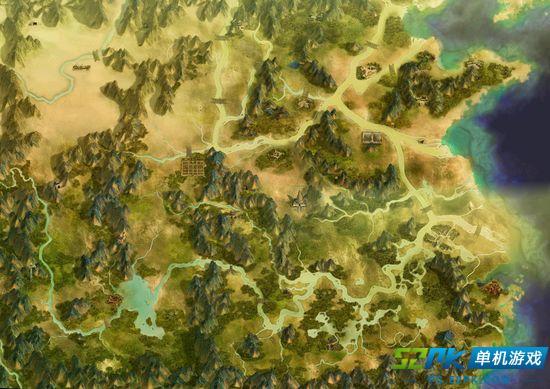 玩家盘点《轩辕剑》系列历代大地图