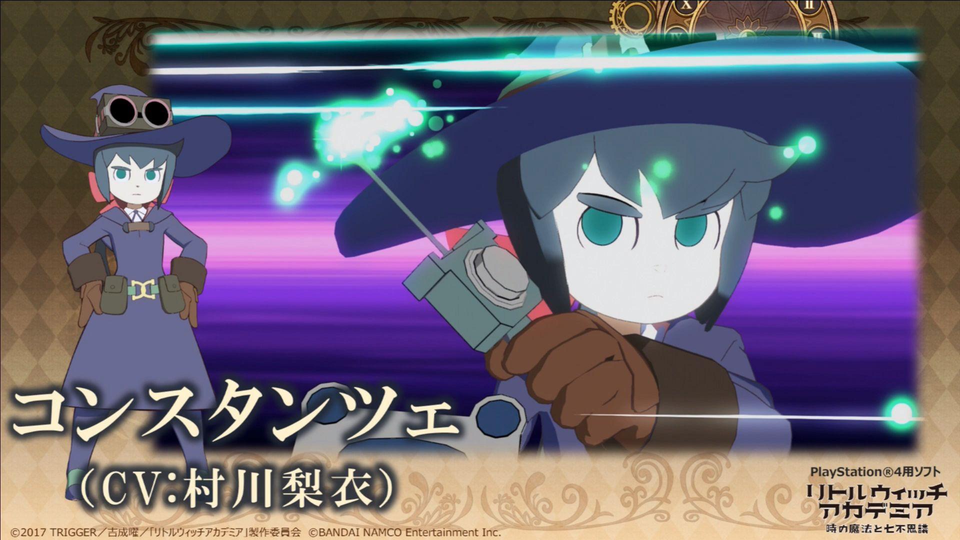 小魔女学园游戏最新情报 三个可操作角色加入