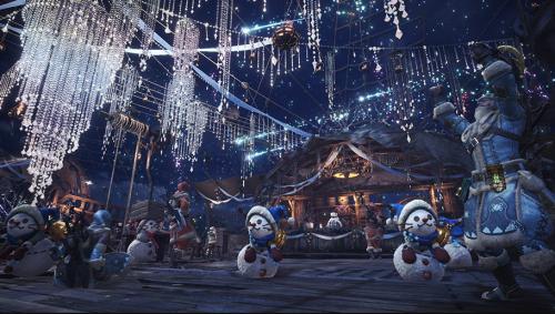 怪物猎人世界主机版将开启星辰祭活动 11月30日上线