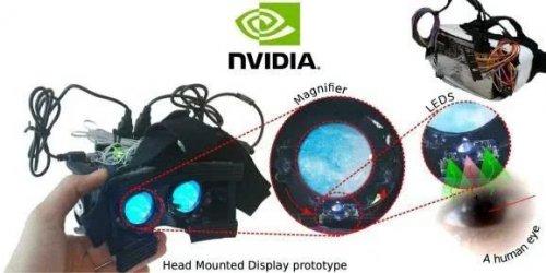 英伟达用LED为VR头显实现轻量级眼动追踪功能